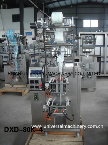 Full Automatic Washing Power Grain Pouch Packing Machine 4 side seal
