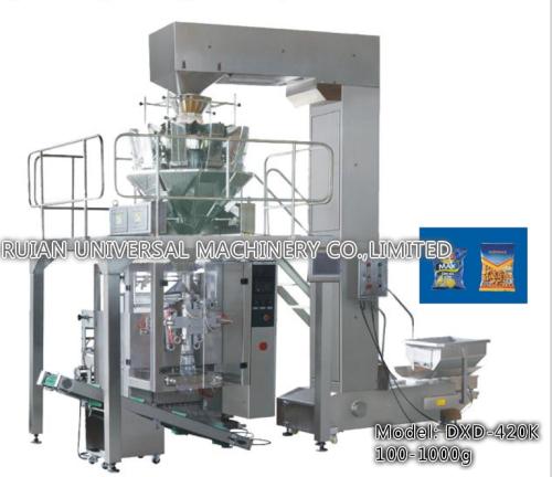 Automatic Cassava Apple Potato Chips Granular Packaging Machine