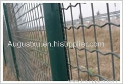 The Wire Mesh Fence