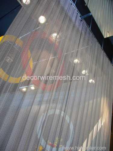 aluminum coil draery spring curtain