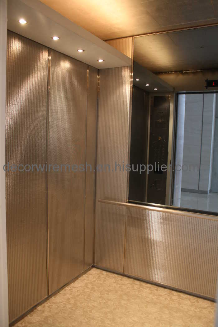 Elevator Wire Mesh Fabric Manufacturers And Suppliers In China