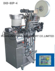 Full Automatic Candy Chewing Gum Count Sachet Packaging Machine 4 side seal