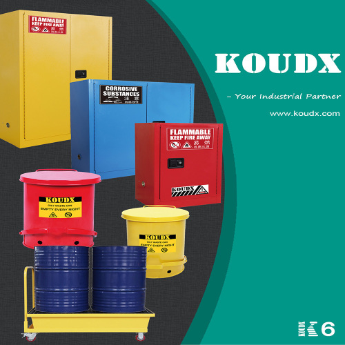 KOUDX Safety Cabinet Ramp