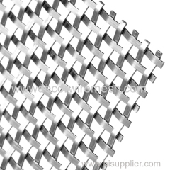decorative flat woven mesh square mesh