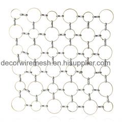 Chain Link Circle Mesh Curtain