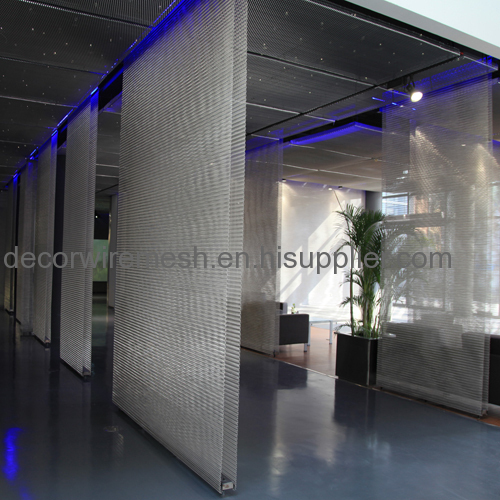facade mesh flexible stainless steel cable net metal cladding