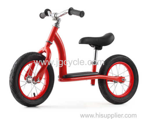 steel balance bike walker with footrest