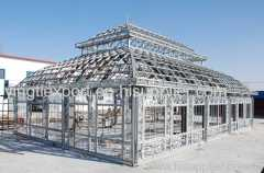 Nice huge hot dipped galvanized conservatory