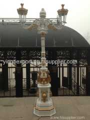 Two armed cast iron street light