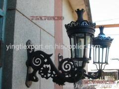 Nice cast iron wall lamp