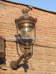 Small cast iron wall sconces