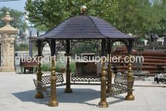 Nice cast iron garden gazebo