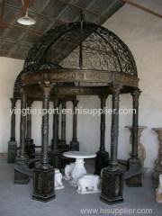 Round cast iron pagoda