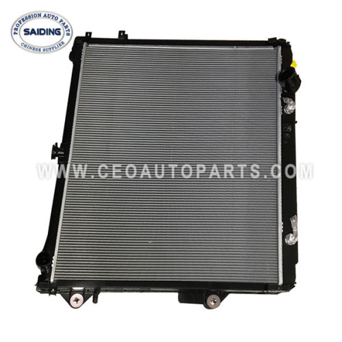 Saiding Wholesale Auto Parts Radiator For Toyota Land Cruiser 3URFE 2UZFE 08/2007-