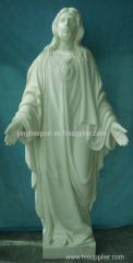 Nice hand carved church statue