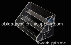 Custom Acrylic Cosmetics Display Stand Shopping Mall Exclusive Stores Use