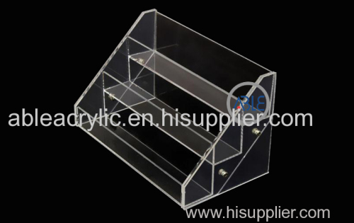 Shopping Mall Use Customized Acrylic Cosmetics Display Stands High Quality Acrylic Display Stands