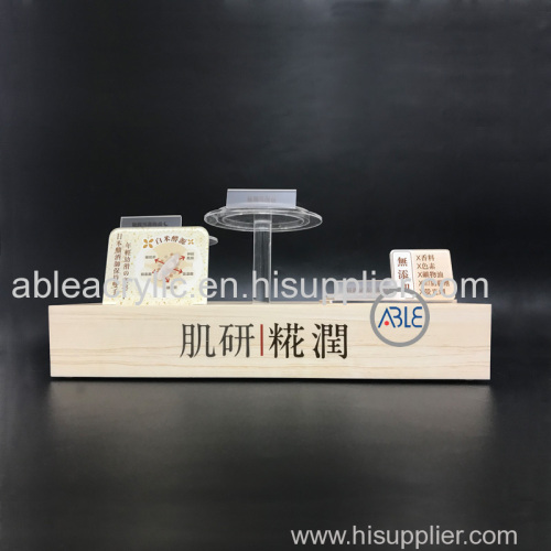 Custom Acrylic Cosmetics Display Stand Shopping Mall Exclusive Stores Use High Quality Acrylic Display Stands