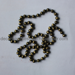 Decorative Steel Round Bead