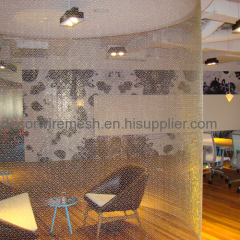 Metal Ring/Circle Mesh for Architecture Decoration