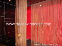 c-steel beaded curtain material