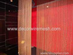 c-steel beaded curtain material