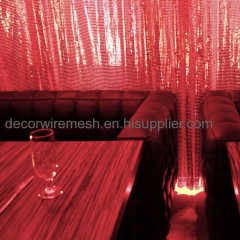Architecture Decorative Metal Sequin Cloth