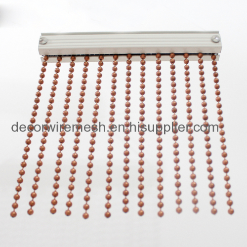 Home Decor China Hot Sale Fashion Design Hanging Metal Bead Curtain