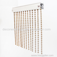 Metal ball chain curtain
