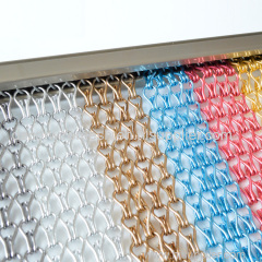 fashionable room divider & metal chain link fly screens