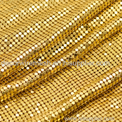 Metallic sequin fabric with Aluminum Alloy