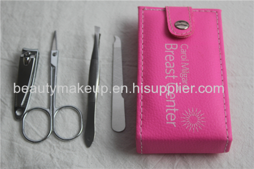 Simple professional manicure tools set manicure pedicure kit nail kit nail clippers nail pusher cuticle cutter