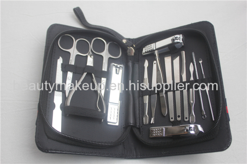 mens manicure set at home french manicure pedicure kit nail kit nail clippers leather manicure case
