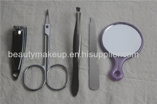 Cute manicure set ladies manicure at home the best manicure set nail kit toe nail clippers metal nail file