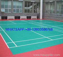 vinyl flooring gemstone /wood plank for basketball / badminton court used floor pvc sports flooring