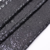 3mm Metal Sequin Fabric Metallic Cloth