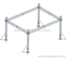 4 Towers Aluminum truss flat roof
