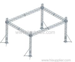 4 Towers Aluminum truss flat roof
