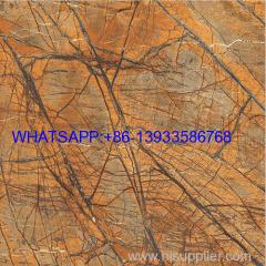Rainforest Brown Marble for tile & slab