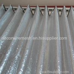 metal scale mesh curtain sequin mesh