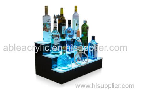 Custom UV Print On Acrylic Wine Display Rack
