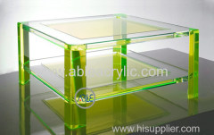 Customized Structure Acrylic Chair Acrylic Table for Home Use