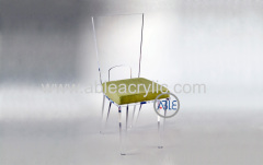 Crystal Clear Customized Acrylic Chair Acryllic Home Furniture