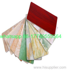 PVC colorful marble sheet for wall panel J-23