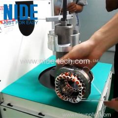 Economical motor stator coil lace equipment motor winding lacing machine