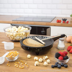 2 IN 1 mini popcorn maker & fry egg maker