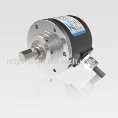 Incremental encoder solid shaft