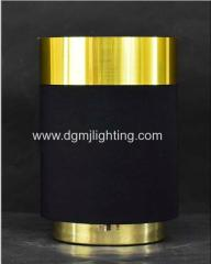 PVC Banded Pad Lamp Brass