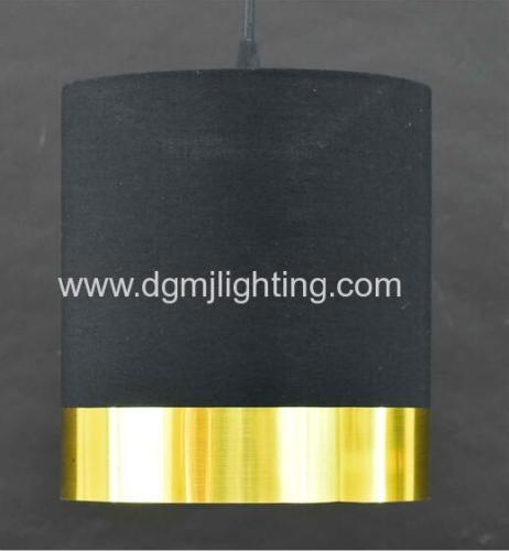 D200mm *H220mm Metallic PVC Banded Cylinder Shade