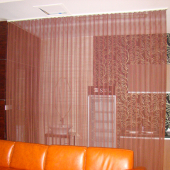 Flexible Aluminum Mesh Curtain as Divider